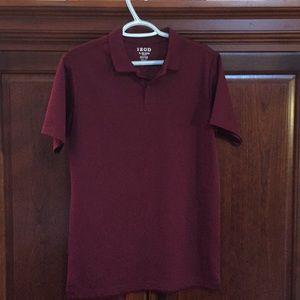 Boy's Izod shirt. Size XL. 18/20. Garnet color.